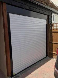 New Electric Roller Garage Door